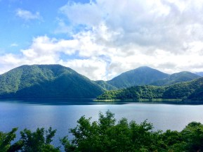 Umgeben von Natur: der Tanukisee