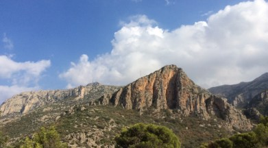 Hoch in den Bergen nicht weit von Tunis