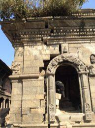 In der großen Tempelanlage Pashupatinath