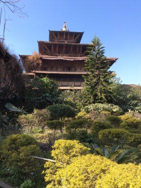 Im Garten vom Patan Museum