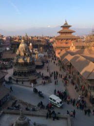 Blick auf den Patan Durbar Square