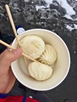 morgens, mittags, abends: Baozi - gefüllte, warme Teigtaschen