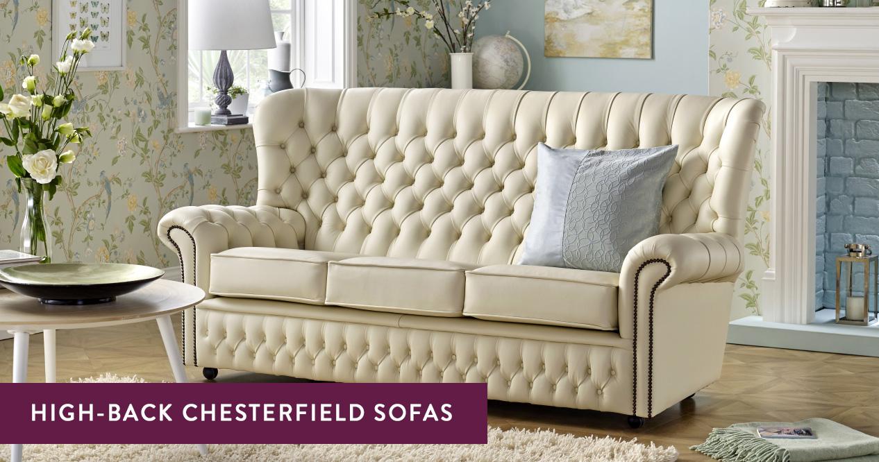 high back chesterfield sofas handmade