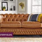 Leather Chesterfield Sofas Luxury Tufted Styles Sofas By Saxon