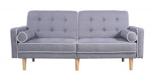 Ordinaire Best 10 Sofas Under 300. 1 U2013 Modern Two Tone Split Back Tufted Linen Fabric  Futon By Divano Roma Furniture