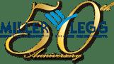 Miller Legg's 50th Logo