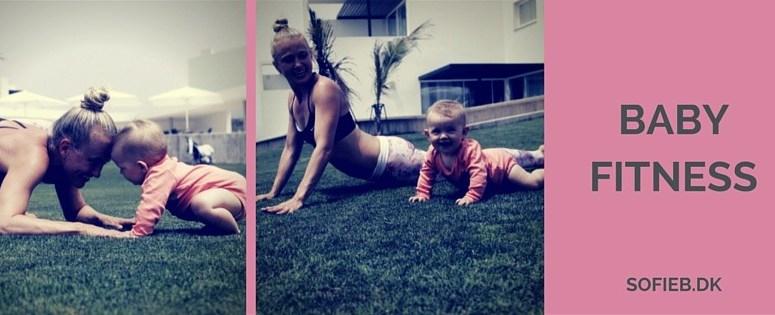 Baby Fitness – Slip kaffekoppen og kom ned og snus til støvet på gulvet med din baby!