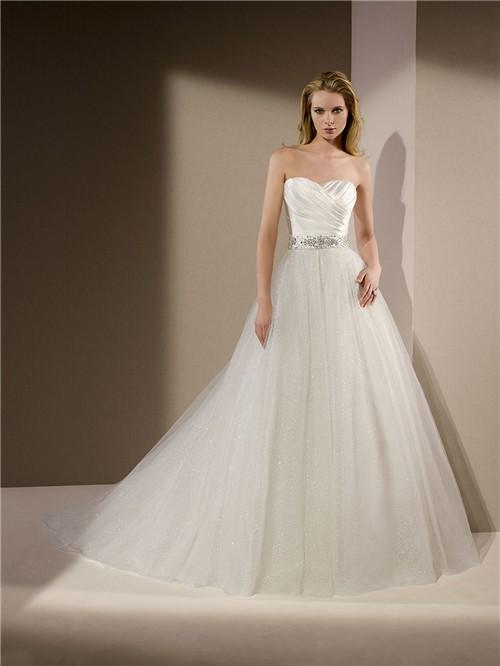 15ae337a6d4 Ruched Wedding Dresses. buy sweetheart ruching beaded peach wedding ...