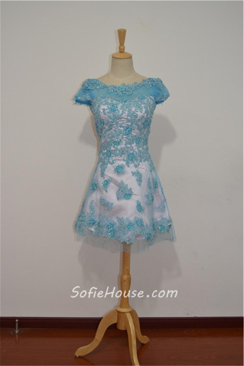 Bridesmaid Dress Light Blue