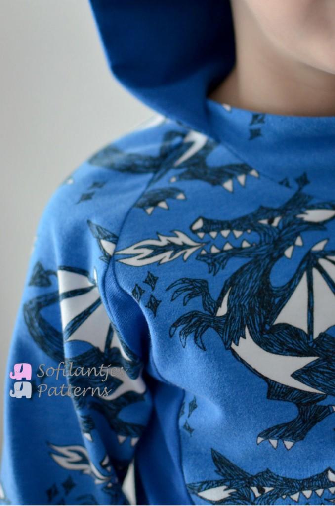 dragon Semper Sweater-Sofilantjes Hood