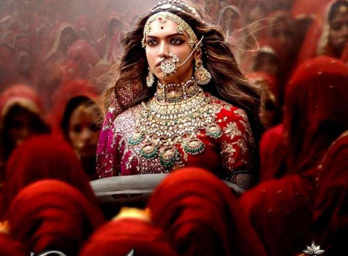 "Poster for the movie ""Padmaavat"""