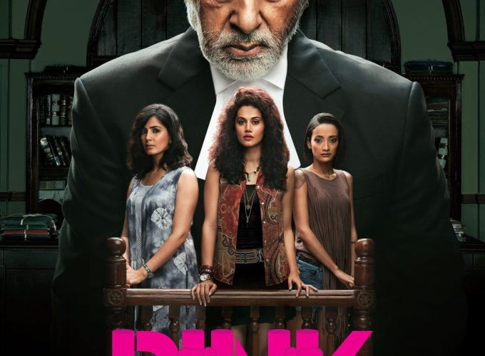 """Poster for the movie """"Pink"""""""
