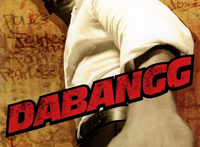 "Poster for the movie ""Dabangg"""