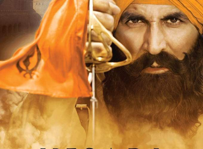 "Poster for the movie ""Kesari"""