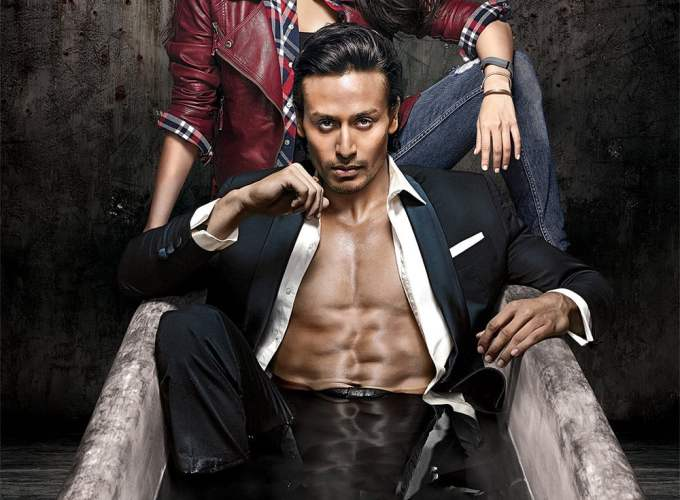 """Poster for the movie """"Baaghi"""""""