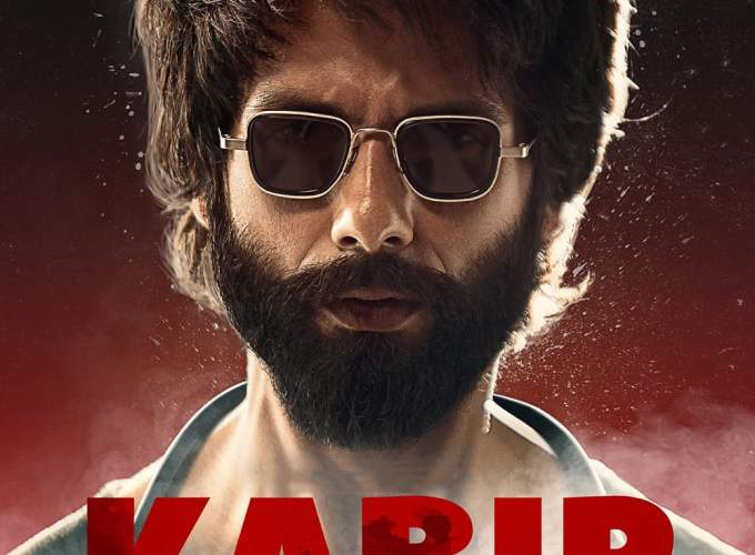 "Poster for the movie ""Kabir Singh"""