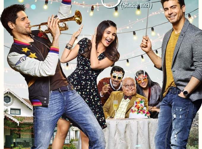"Poster for the movie ""Kapoor & Sons"""