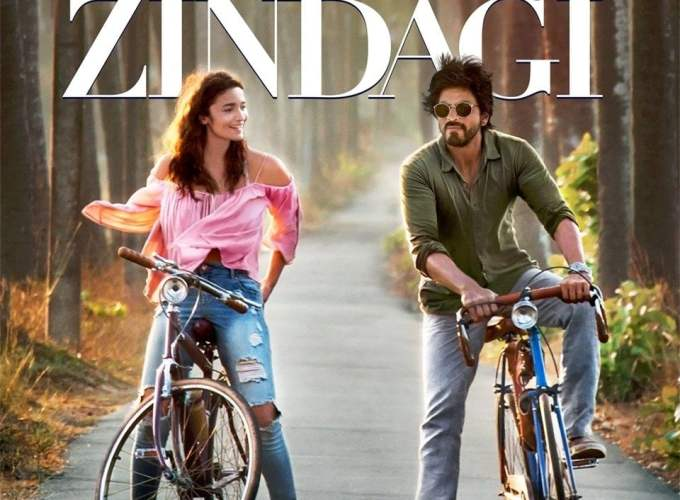"Poster for the movie ""Dear Zindagi"""
