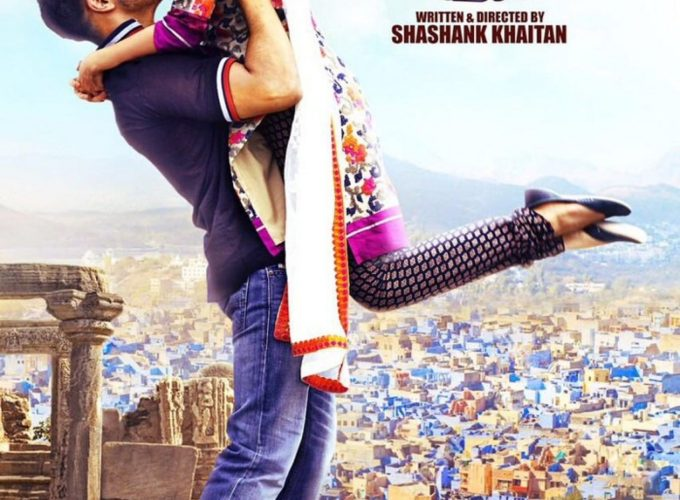 "Poster for the movie ""Badrinath Ki Dulhania"""