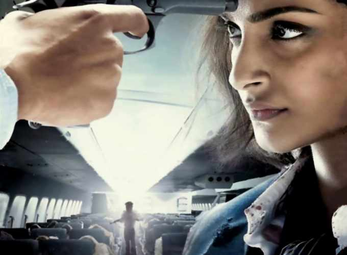 "Poster for the movie ""Neerja"""