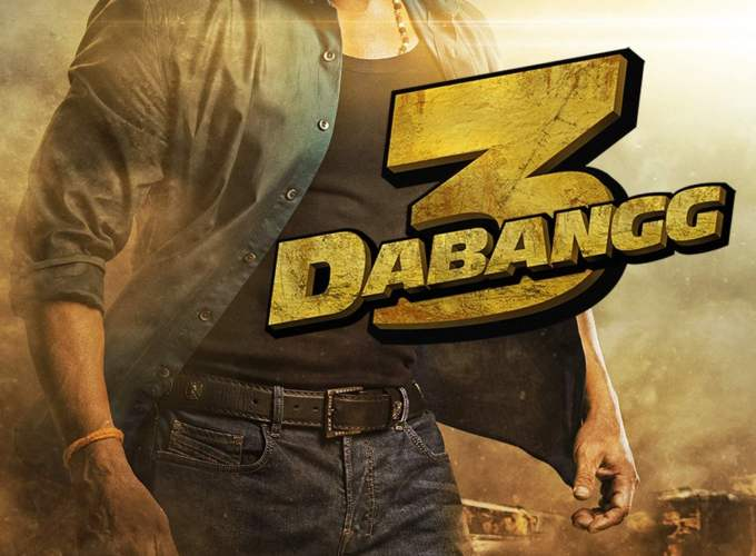 "Poster for the movie ""Dabangg 3"""