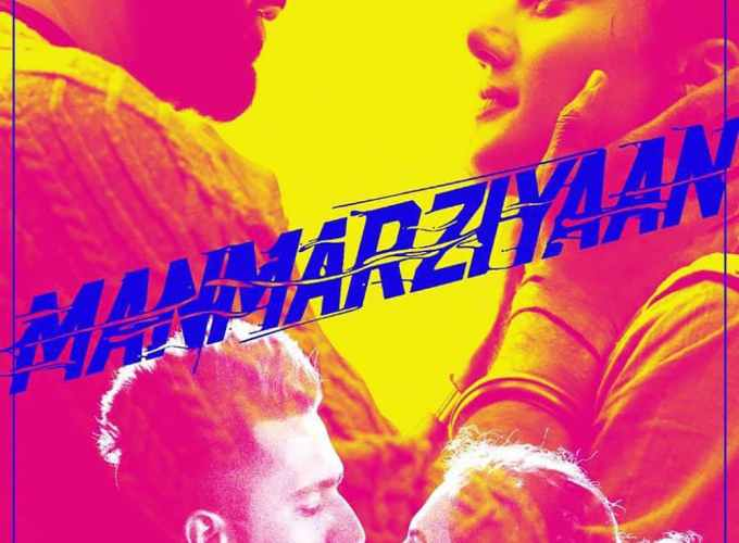 """Poster for the movie """"Manmarziyaan"""""""
