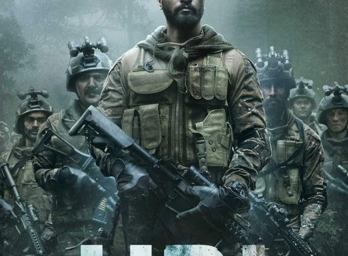 """Poster for the movie """"Uri: The Surgical Strike"""""""
