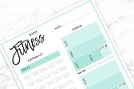 Free Printable Daily + Weekly Planners! (Free Download)