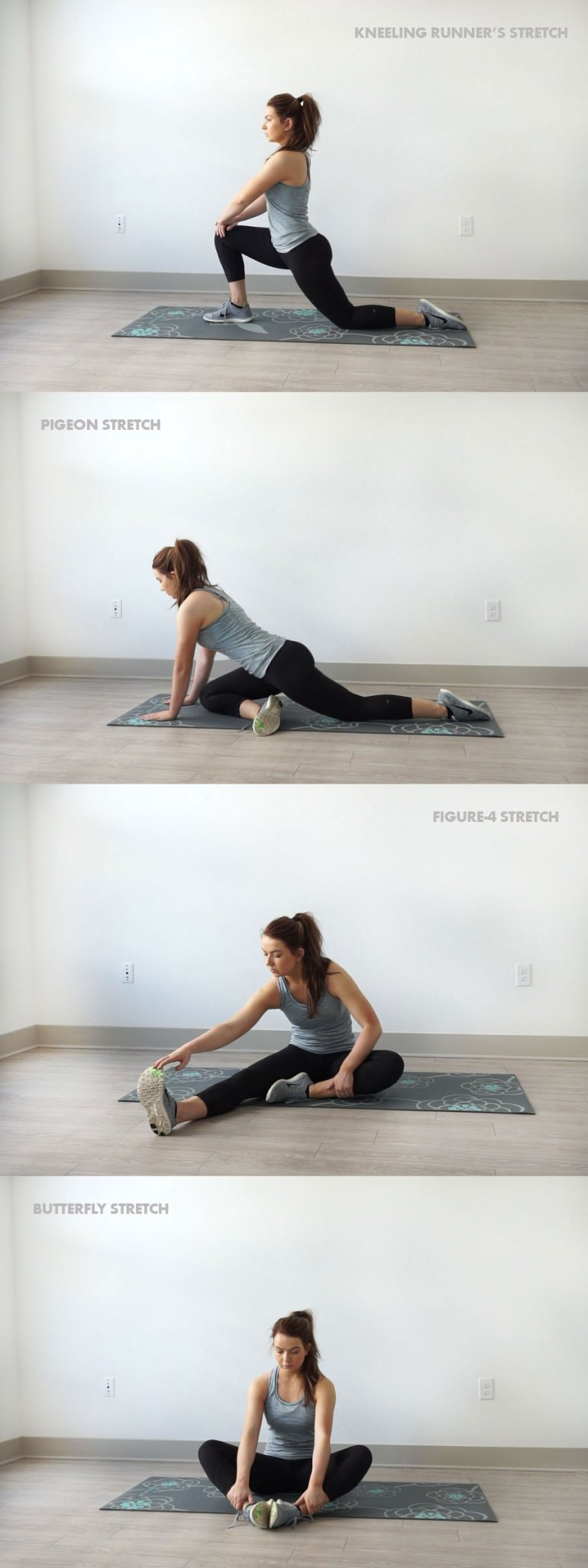 20-Minute At Home Leg and Butt Workout | Stretches