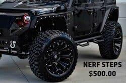 Nerf Steps ($500)
