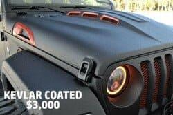 Kevlar Coated- $3,000.00