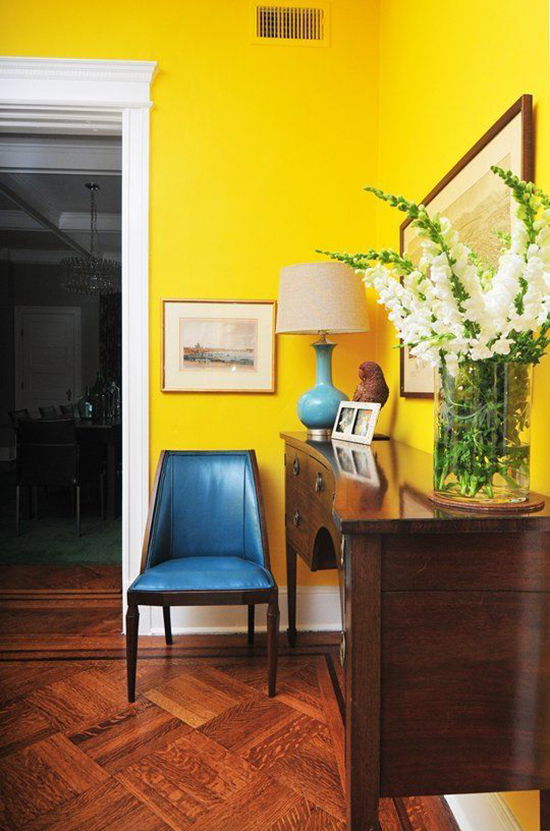 For The Home Bold Wall Colours So Fresh Amp So Chic