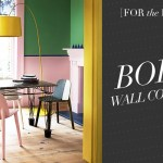 [For the Home] Bold Wall Colours