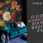 [For the Home] 15 Dark and Sophisticated Rooms to Welcome Fall