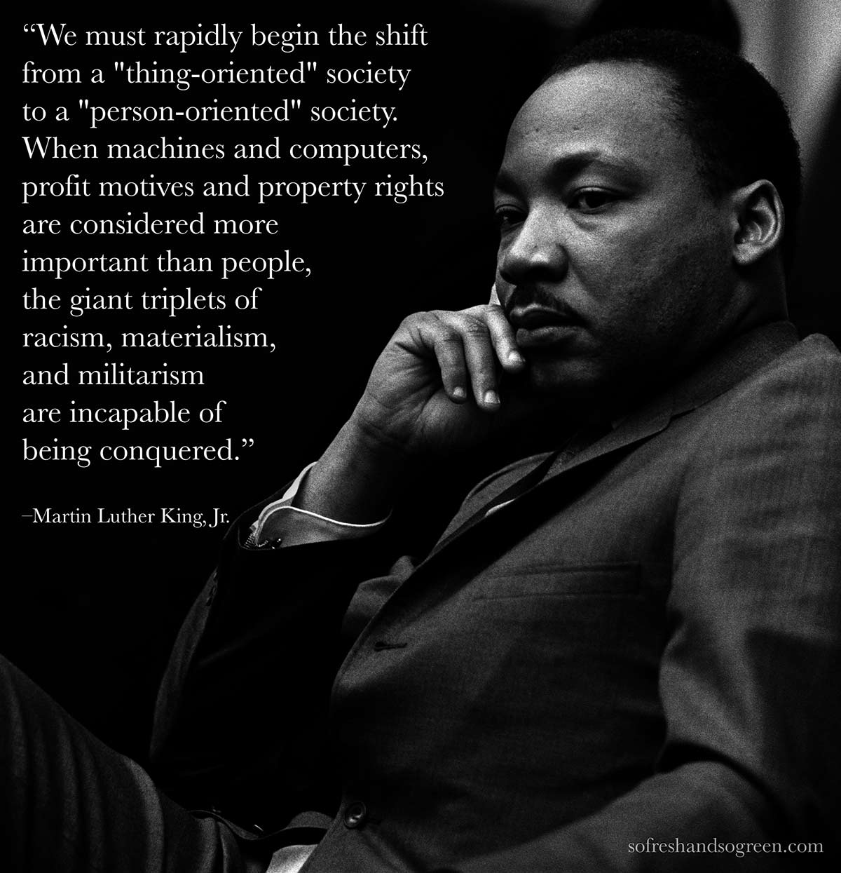 Quote Martin Luther King Jr On Environmentalism