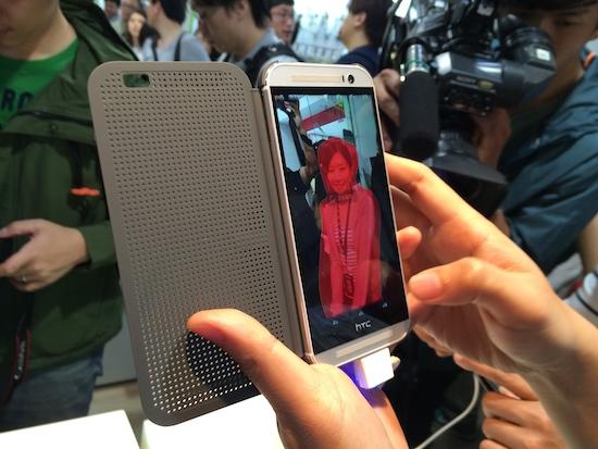 HTC One(M8) 亞洲首賣,4/30 前購買送 Dot View 炫彩顯示保護殼 2014-03-28-14.12.30