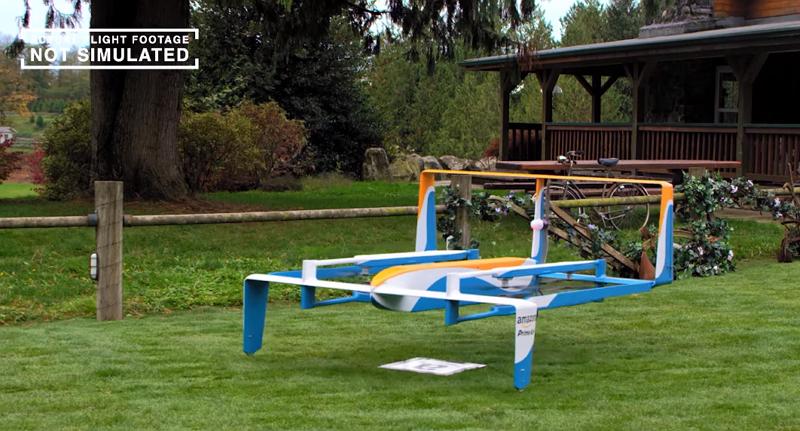 無人機送貨時代正式來臨!Amazon 公開 Prime Air 真實運作影片