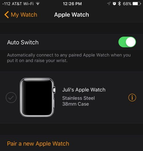 ios 9.3 apple watch watchos