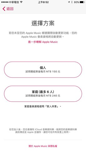 Apple Music台灣