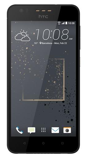 HTC Desire 825金色潑彩設計石墨黑1