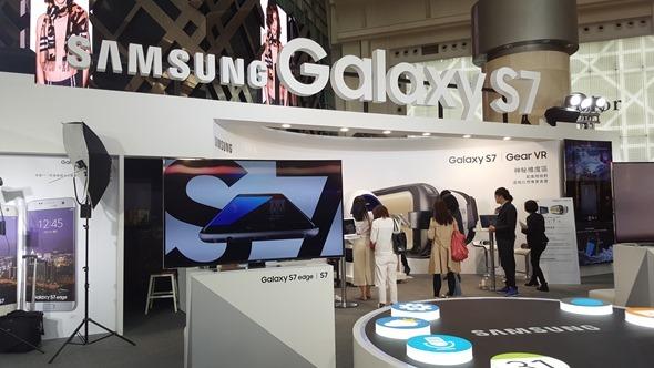 三星 Galaxy S7 旗艦體驗會在 101,現場還可玩 Gear VR 及 360度攝影機 20160304_152958