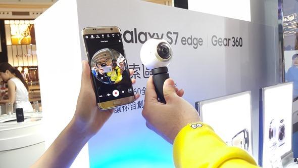 三星 Galaxy S7 旗艦體驗會在 101,現場還可玩 Gear VR 及 360度攝影機 20160304_163856