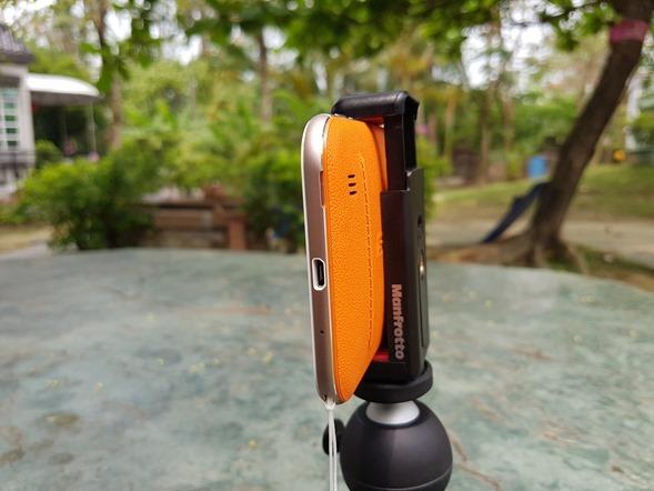 行動迷你腳架 ASUS ZenTripod 開箱 + ZenFone Zoom 新款炫酷橘背蓋分享 20160420_132615