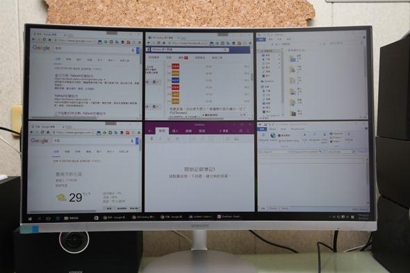 電腦螢幕也有劇院級的影音享受,Samsung C27F591FDE 曲面顯示器評測 image037