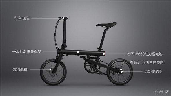 不騎平衡車啦!米家電助力摺疊自行車發表,售價 2999 人民幣 4bdf566a37da9ca5bcc841f1db4b5413