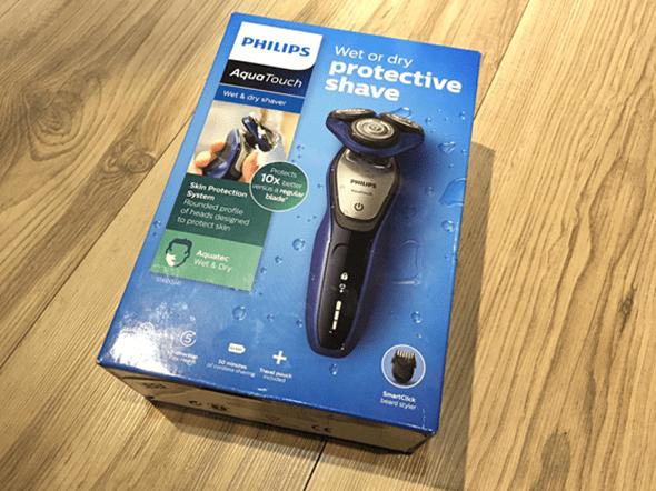 開箱:荷蘭原裝 PHILIPS 三刀頭乾濕兩用電鬍刀(S5600) image-11