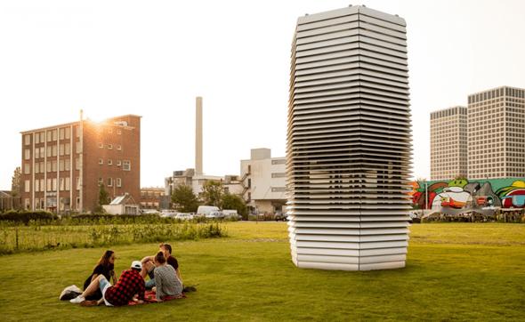 [科技新視野] 荷蘭設計師打造世界最大空氣清淨機,9 月進駐北京淨化城市 image-3