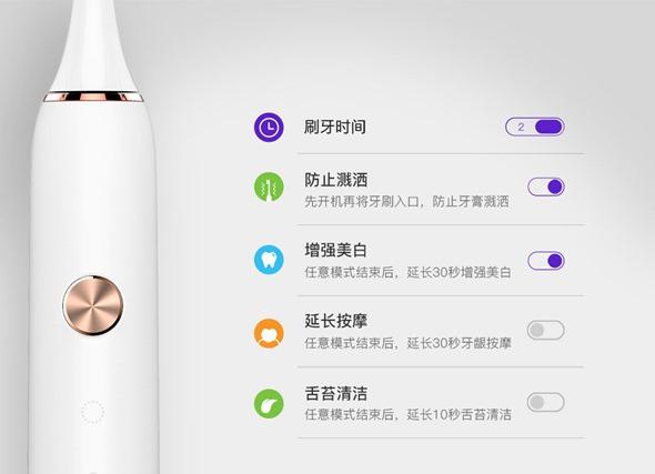 從客廳踏入浴室,小米發表素士聲波電動牙刷,結合 App 更智慧 img-5-1