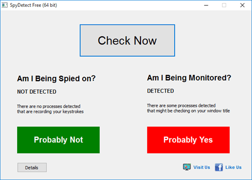 我的電腦被監控、追蹤了嗎?SpyDetect 免費軟體60秒幫你完成檢測 spydetectfree