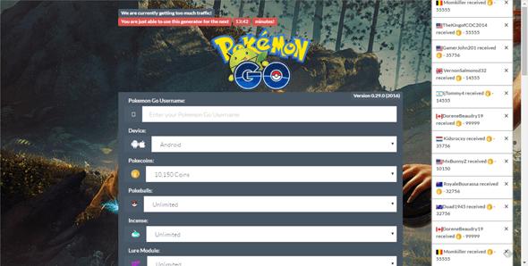 注意!Pokemon GO詐欺網站Coolpkgo以無限遊戲道具利誘玩家填寫問卷 (破解實測) %E5%9C%96%E7%89%87-72